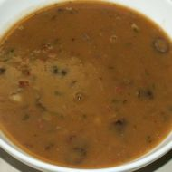 Fazolová polévka se špekáčkem recept
