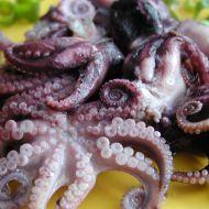 Salát z chobotniček recept