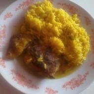 Kuře na kari s rýží recept