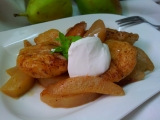 Vanilkove knedlicky v hruskove omacce recept
