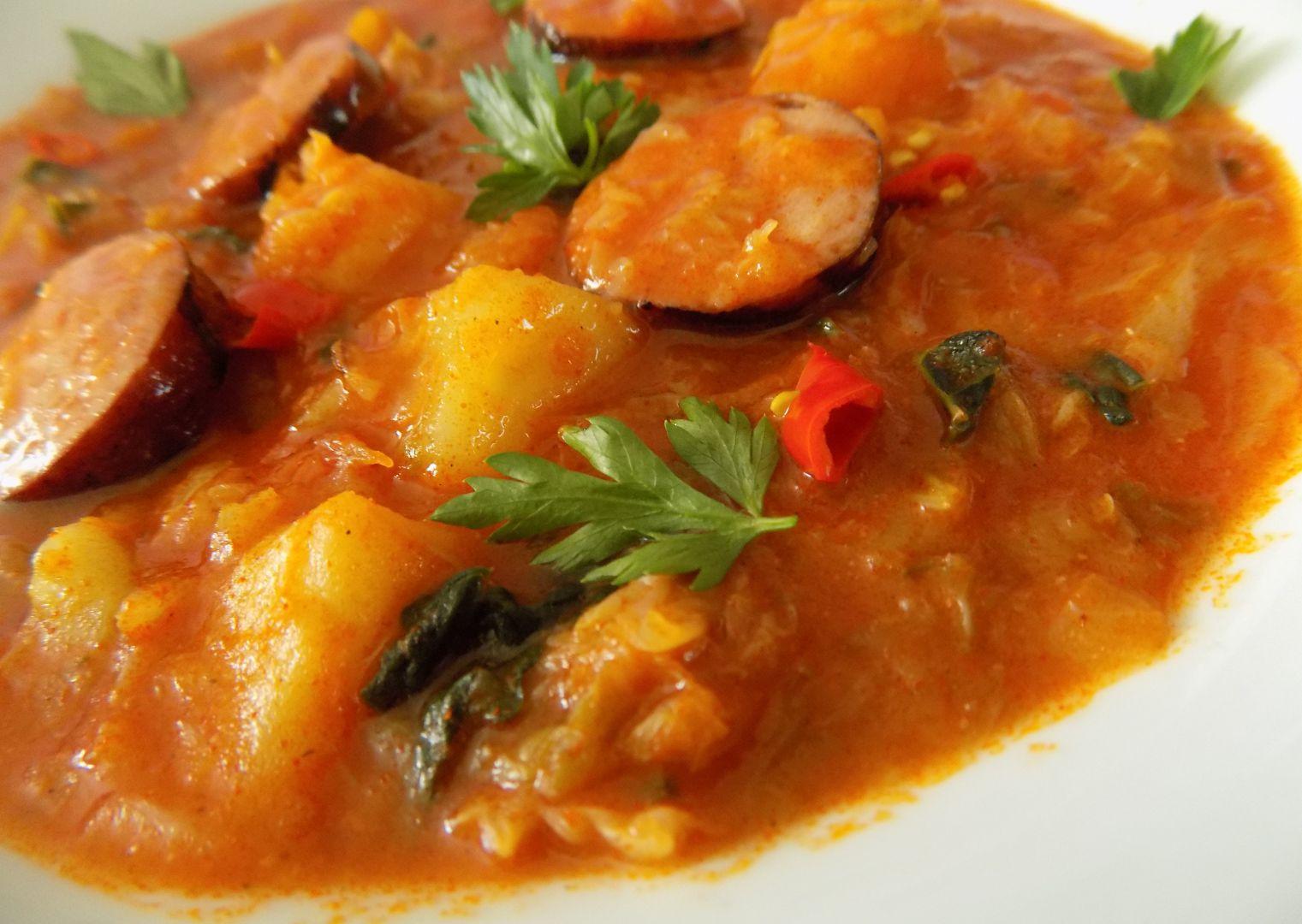 Kapustový guláš recept