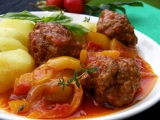 Masové kuličky na zelenině a bylinkách recept