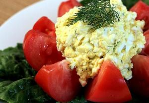 Vajíčkový salát podle Šárky