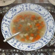 Hovězí polévka s nudlemi recept