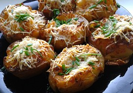 Pečené brambory s parmazánem recept