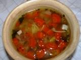 Polévka z uzeného vývaru s mrkví a brokolicí a smaženicí recept ...