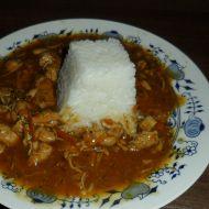 Kuře na zelenině s rýží recept