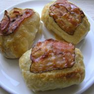 Rozpeky se sýrem a slaninou recept