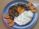 Čína s rýží recept