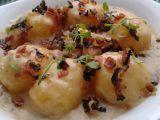 Smetanové brambory se slaninou recept