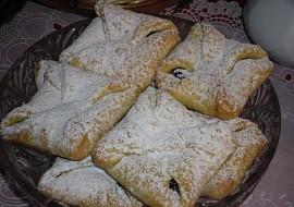 Psaníčka-máslové těsto z tvarohu Retro recept
