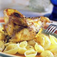 Pečené kuřecí maso s mušličkami recept