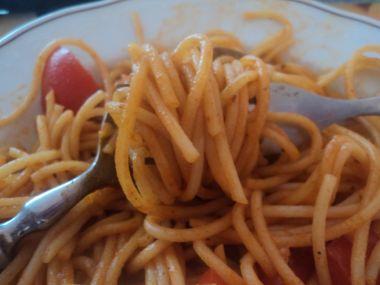 Indické špagety