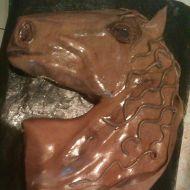 Dort koňská hlava s potahovací hmotou recept