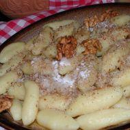 Bramborové šišky s ořechy recept