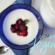 Hustý pečený bílý jogurt recept