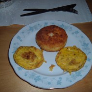 Vajíčková kolečka se sýrem recept
