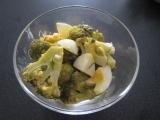 Brokolicový šalát s vajcom recept