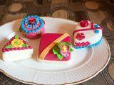 Mini dortíky recept