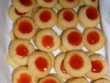 Náprstkové koláčky  cukroví recept