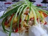 Zapečené brambory podle Dadalovy kuchařky recept