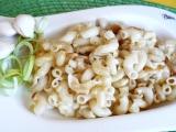 Zapečené česnekové těstoviny recept