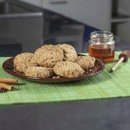 Ovesné sušenky s medem a skořicí recept