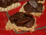 Mandle v čokoládě na oplatce recept