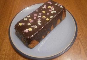 Čokoládovo-vanilkový bochníček
