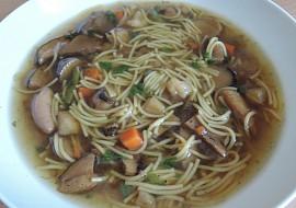 Kovářská houbová polévka recept