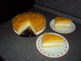 Broskvový tvarohový dort recept