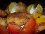 Vařené brambory s jemným dipem recept