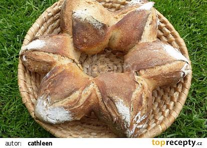 Chleba  hvězda recept