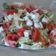 Letní salát s tofu a zázvorem recept