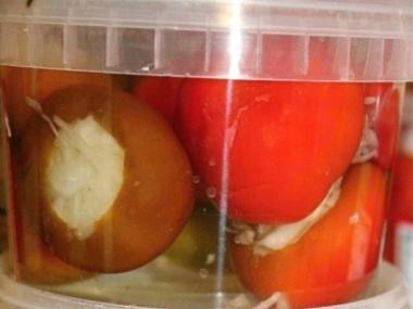 Papriky plněné houbami