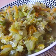 Cuketové kostičky s mrkví recept