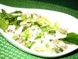 Zelený těstovinový salát s tuňákem recept