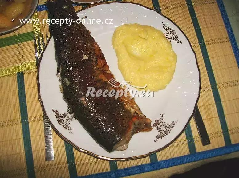 Pstruh na másle recept  ryby