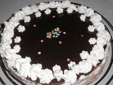 Čokoládový dort tety Jitky