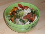 Zeleninový salát s těstovinou recept
