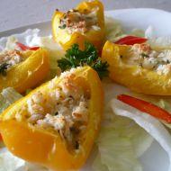 Zapečené plněné papriky recept