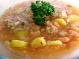 Polévka ze 3 hrstí recept