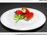 Plněné baby papriky s kuřecím masem recept
