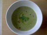 Hráškovo-brokolicová polévka recept