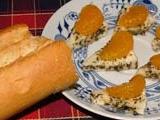 Nakládaný hermelín s mandarinkou recept