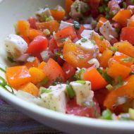 Zeleninový mozzarella salát recept