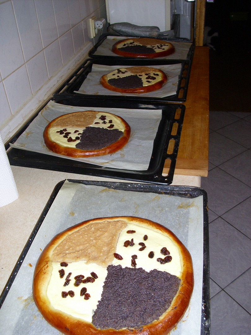 Velké koláče recept