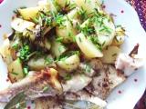 Výborná ryba  vše v jednom recept