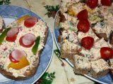 Čerstvá pomazánka ze sýra a zeleniny recept