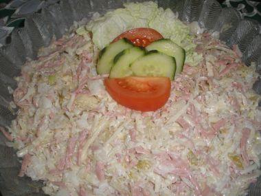 Salát z kysaného zelí s křenem rychlý a snadný